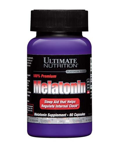 Витамины Ultimate Melatonin, Ultimate Nutrition