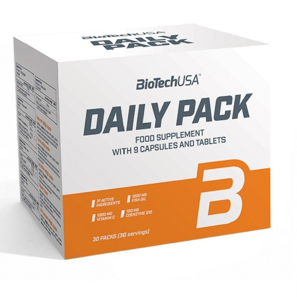 Витамины Daily Pack, Biotech USA