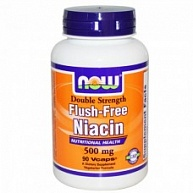 Витамины Niacin Flush Free, NOW