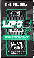 Жиросжигатель Lipo-6 Black HERS Ultra Concentrate,Nutrex