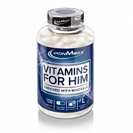 Витамины Vitamins For Him, IronMaxx