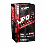 Жиросжигатель Lipo-6 Black Ultra Concentrate, Nutrex